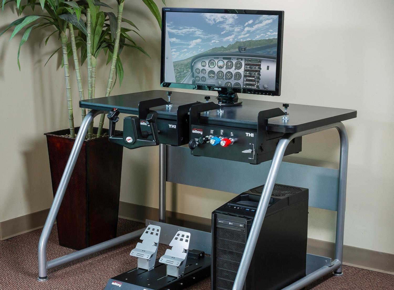 How to Set up a Home Flight Simulator